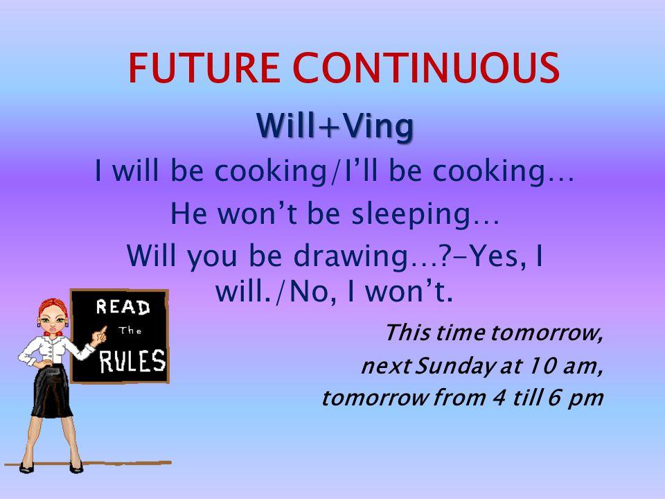USE: Прогнозы на будущее, основанные на размышлениях, воображении со словами think, believe, expect, imagine, I'm sure, I hope, I'm afraid, probably,