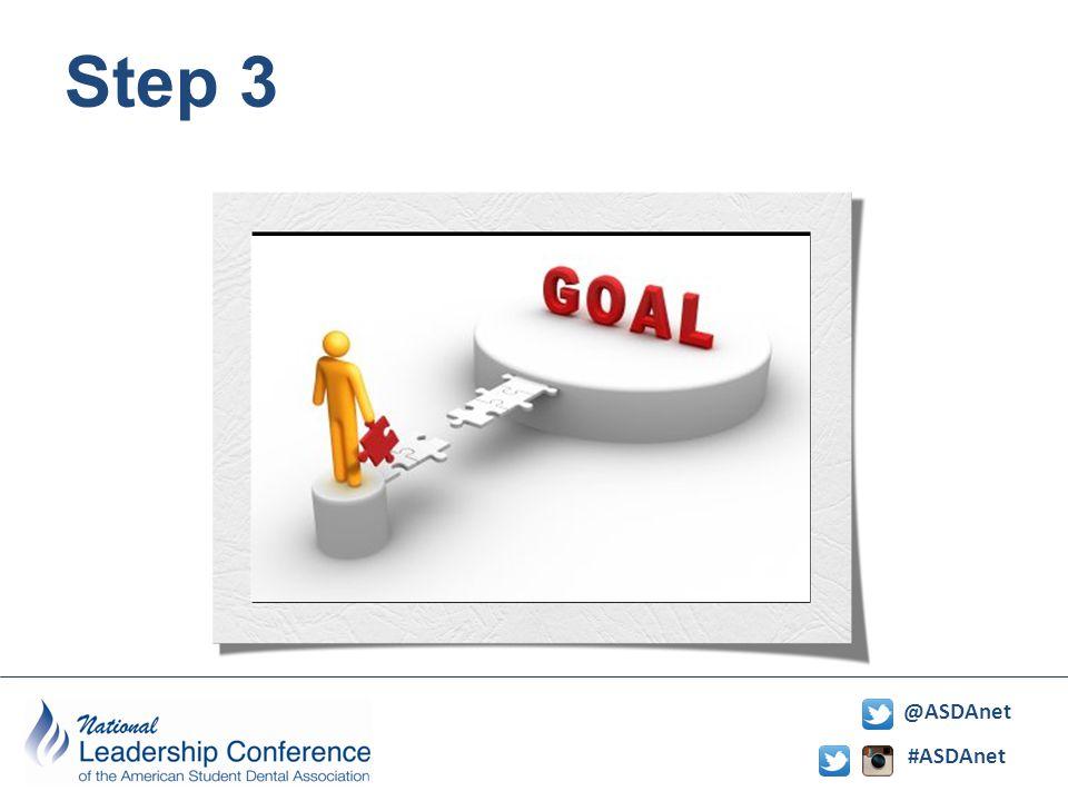 #ASDAnet @ASDAnet Step 3
