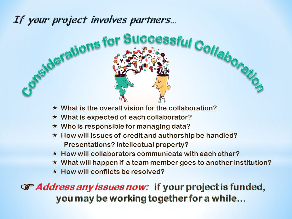  What is the overall vision for the collaboration.