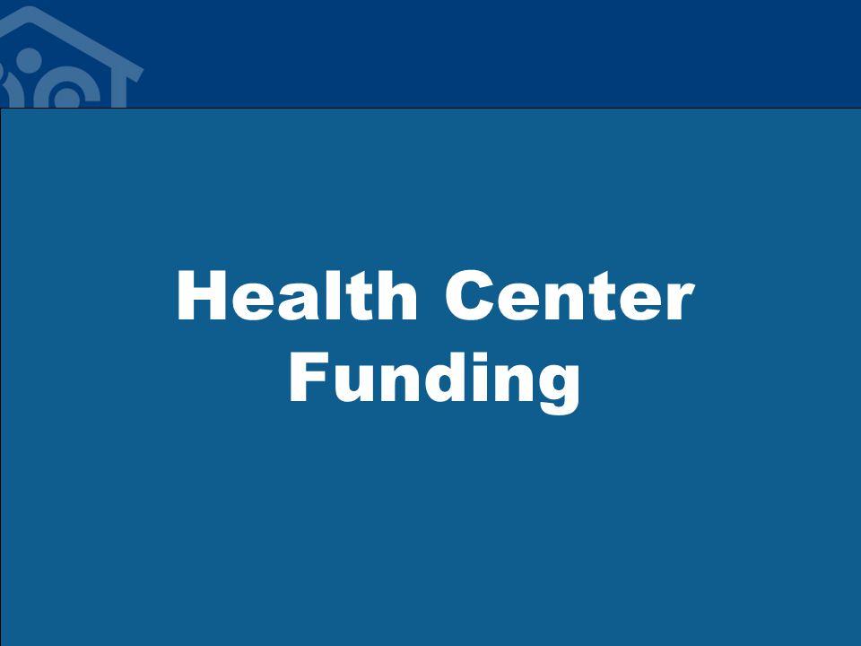 Health Center Funding
