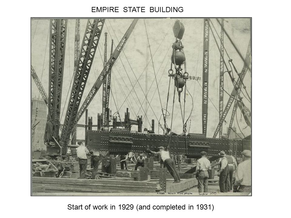 The Empire State building was built in 1930. Safety won't be invented until much later.