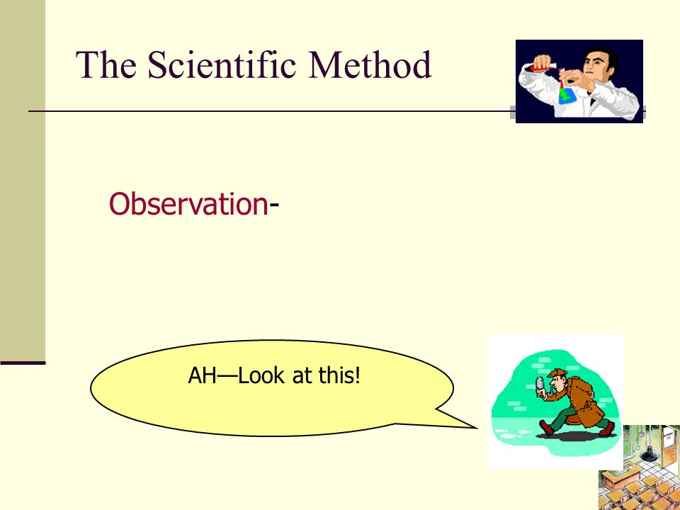Falsification A real Scientific Theory tells you what observations are necessary to falsify it.