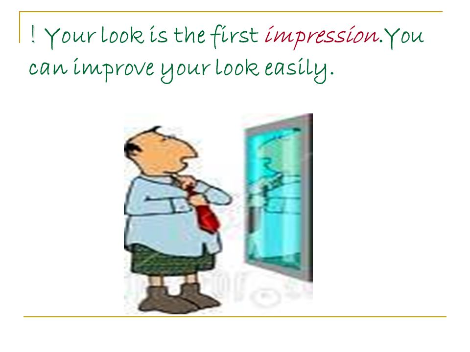If you want to improve your look, you should be careful with of your health first.
