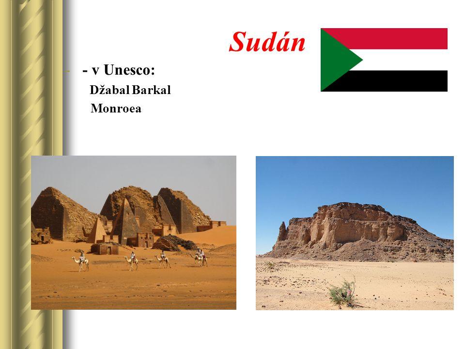 Sudán -- v Unesco: Džabal Barkal Monroea
