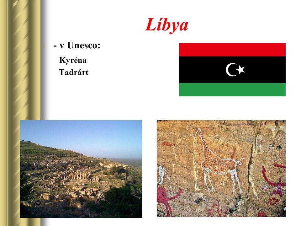 Líbya -- v Unesco: Kyréna Tadrárt