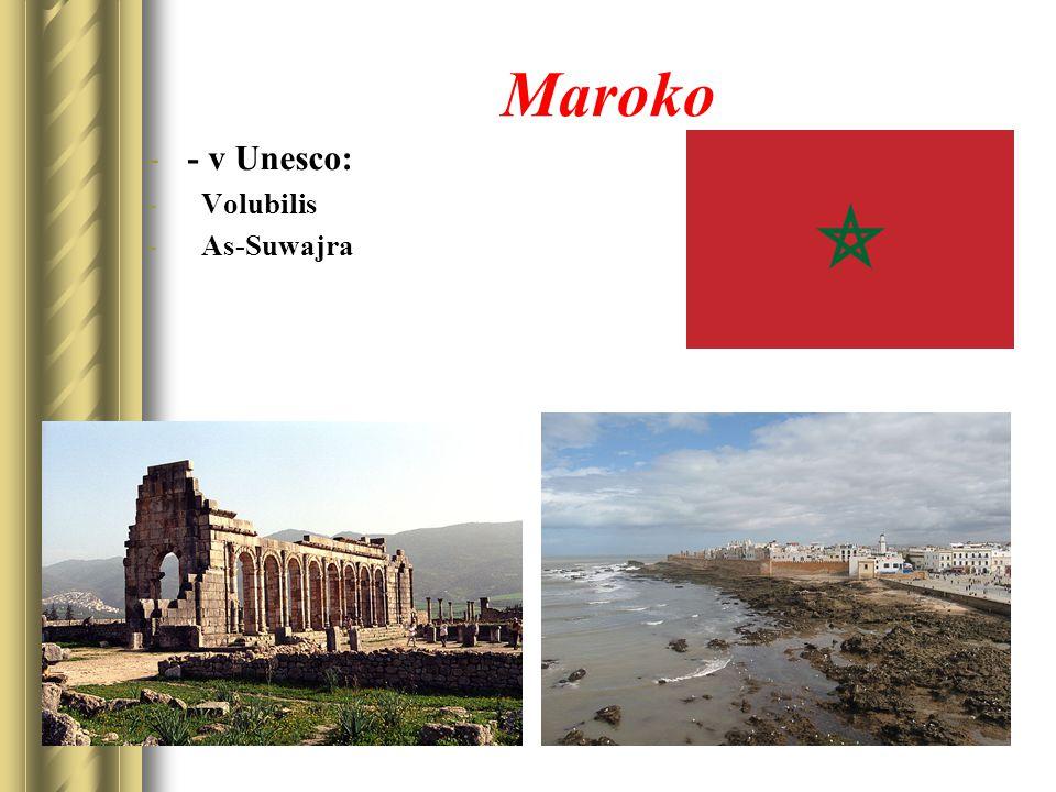 Maroko -- v Unesco: - Volubilis - As-Suwajra