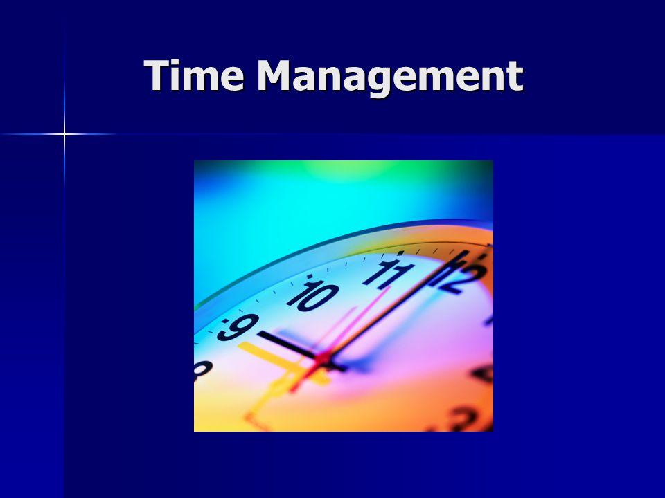 Time Management Time Management