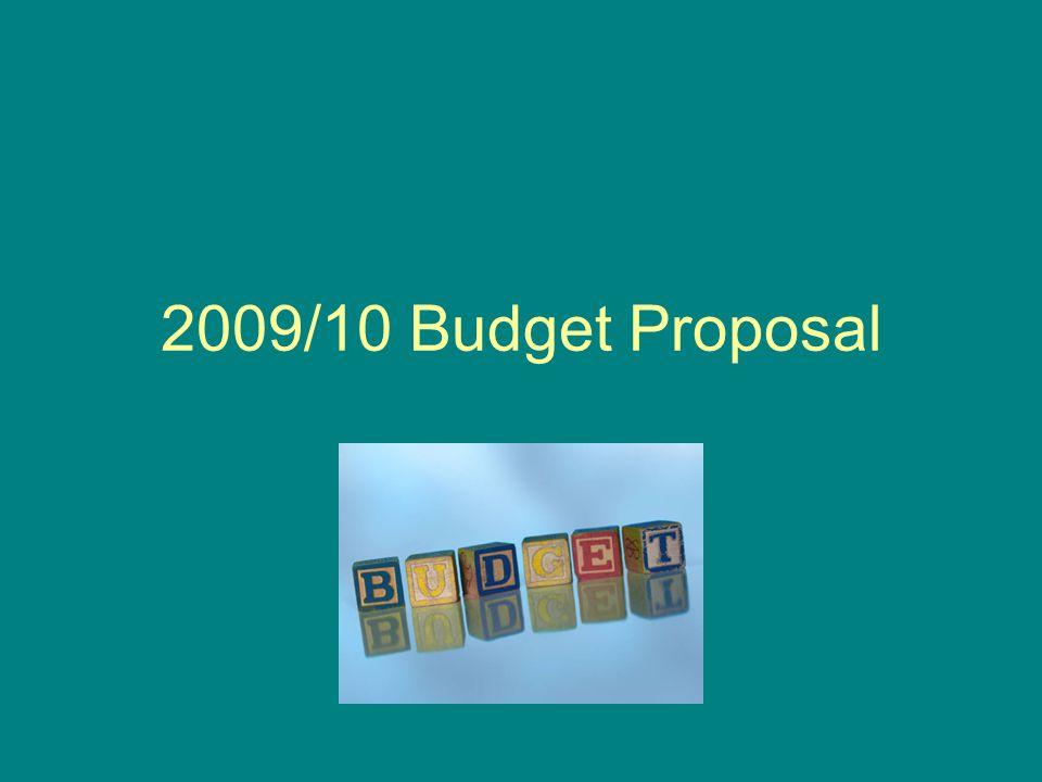2009/10 Budget Proposal