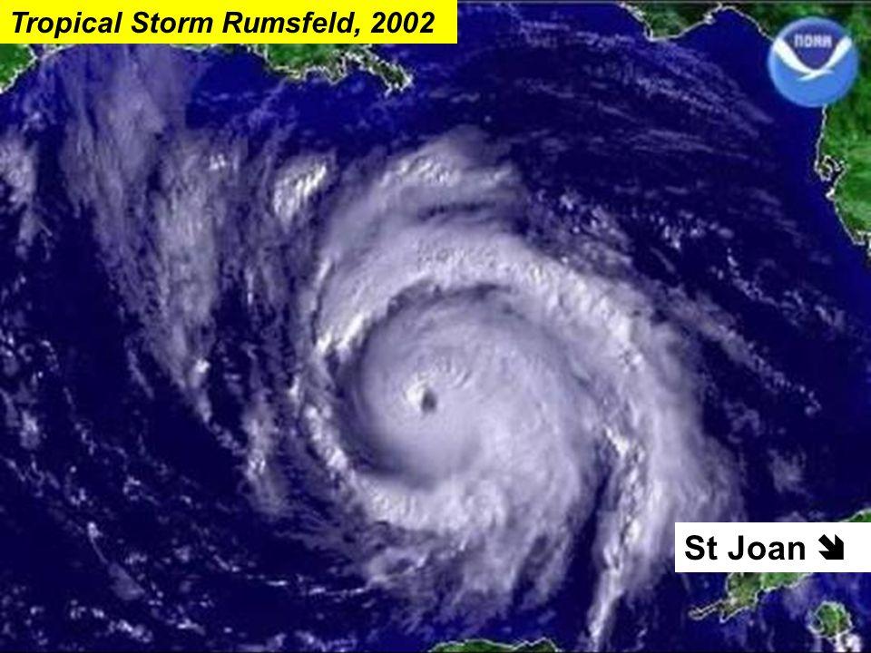 St Joan  Tropical Storm Rumsfeld, 2002