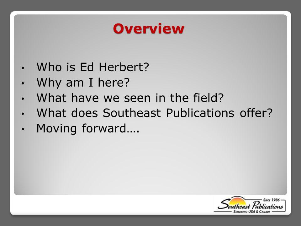 Who is Ed Herbert.