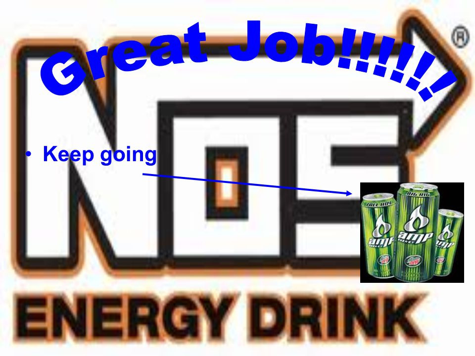 6. What is the worst energy drink for you