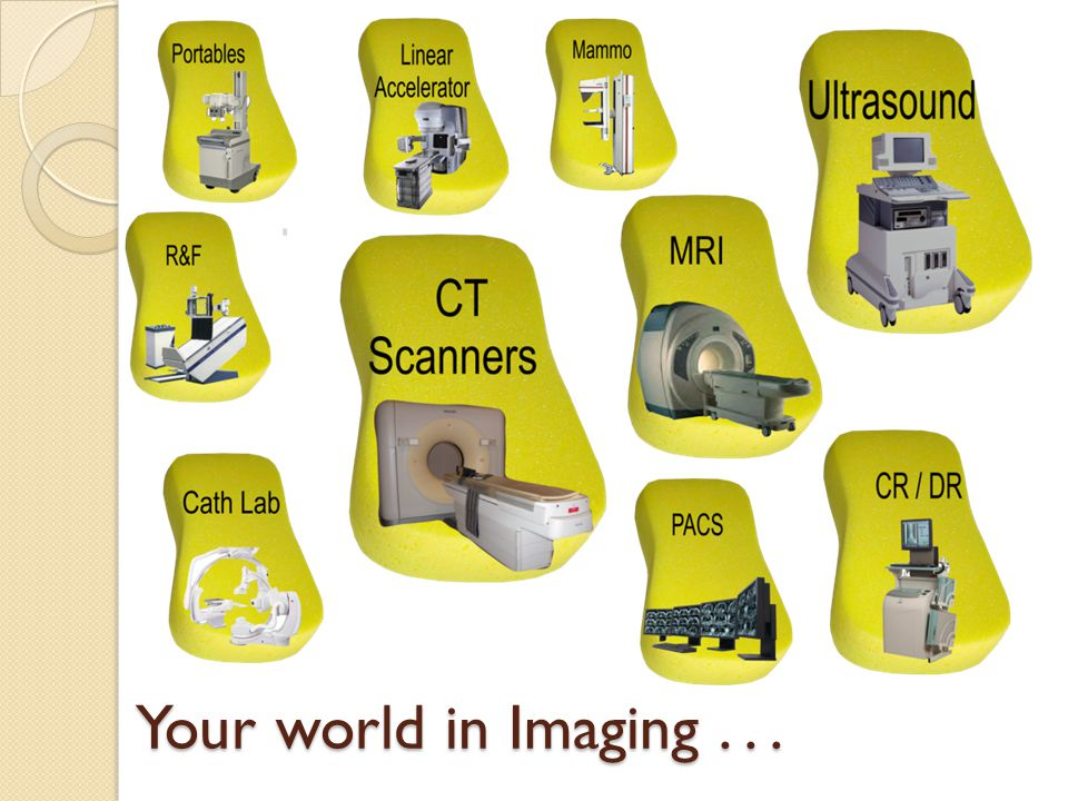 Your world in Imaging...