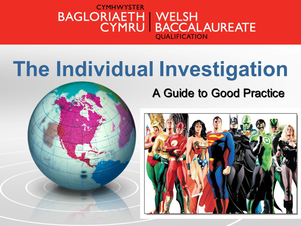 The Individual Investigation A Guide to Good Practice
