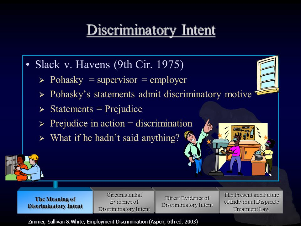 Zimmer, Sullivan & White, Employment Discrimination (Aspen, 6th ed, 2003) Revisiting Pretext Proving pretext  Reason(s) has no basis in fact  Reason(s) did not actually motivate defendant  Reason(s) were insufficient for action taken Are objectively false reasons pretextual if defendant subjectively believed them true.
