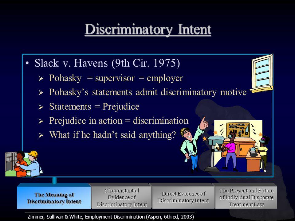 Zimmer, Sullivan & White, Employment Discrimination (Aspen, 6th ed, 2003) Slack v.