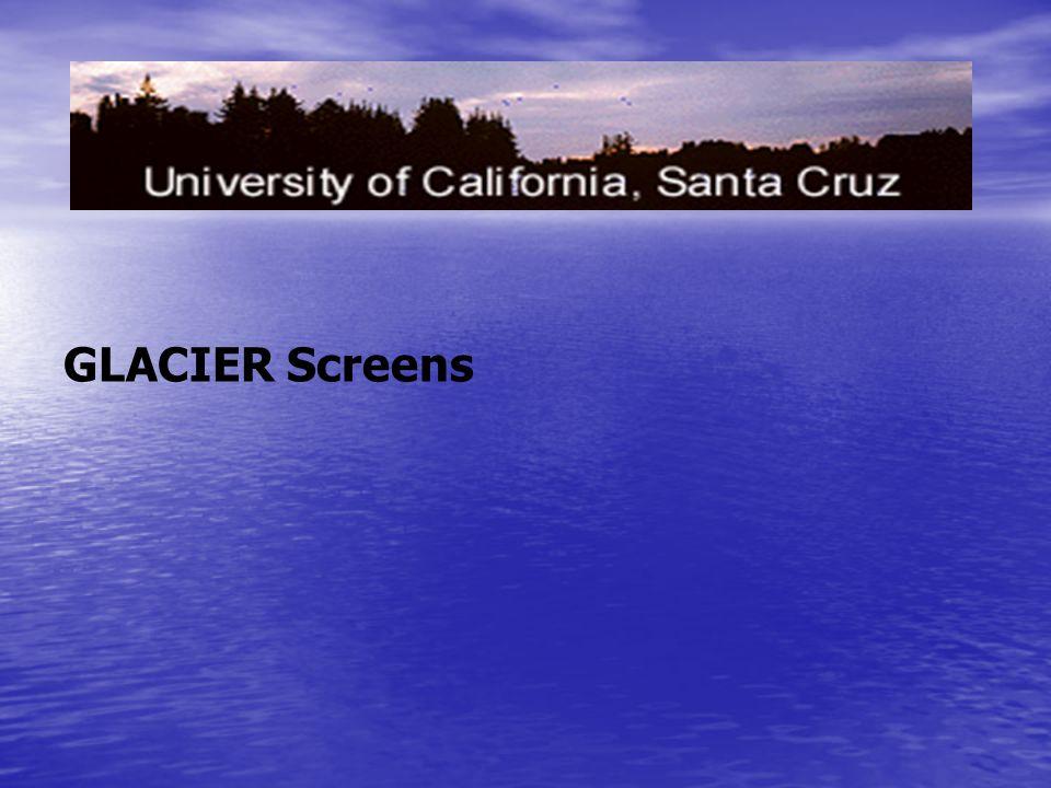 GLACIER Screens