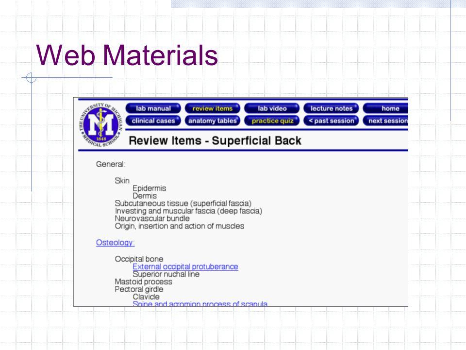 Web Materials
