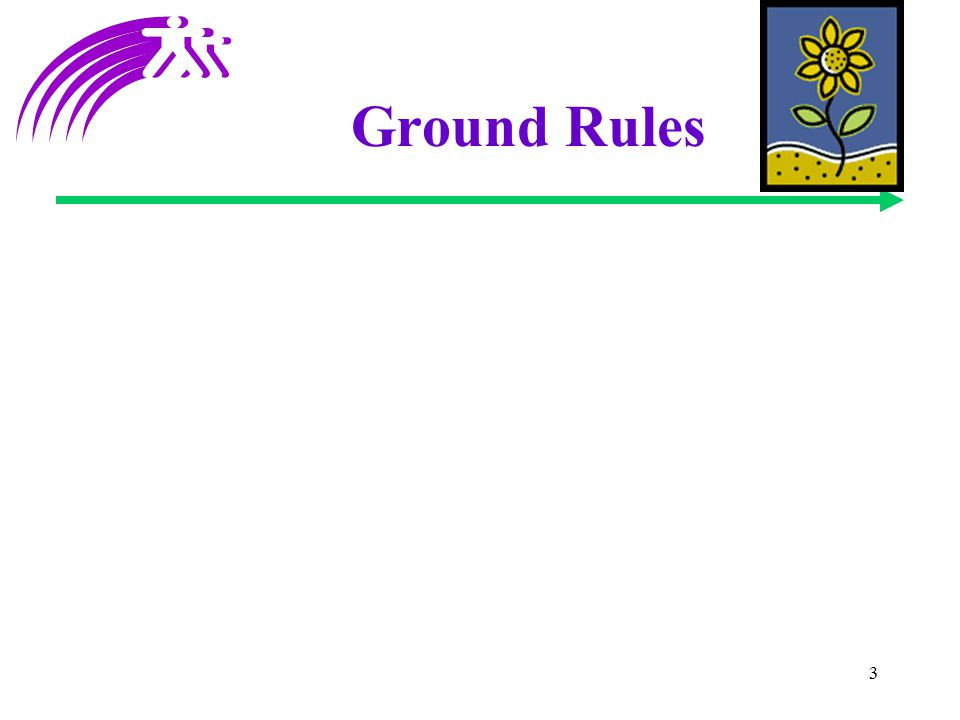 3 Ground Rules