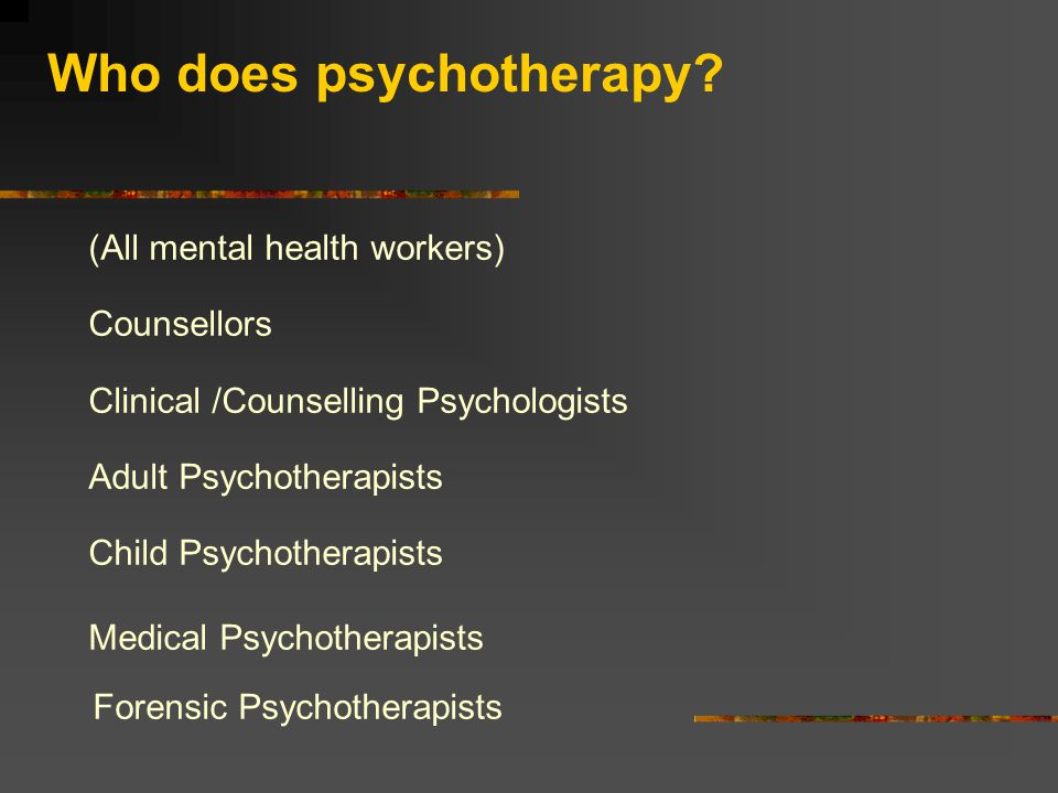 "Psychotherapy is: ""…essentially a conversation which involves listening to and talking with those in trouble with the aim of helping them understand a"