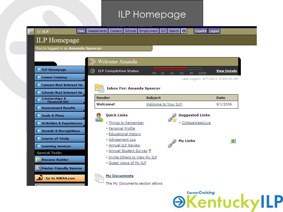 ILP Homepage