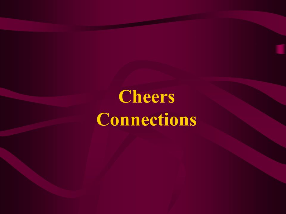 Cheers Connections