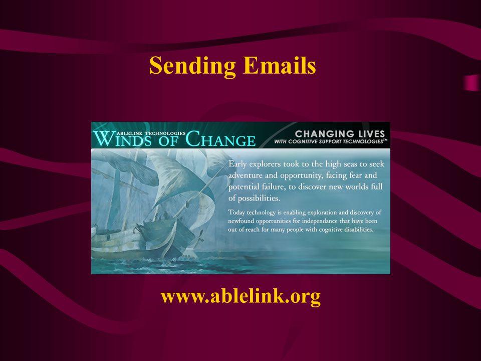 Sending Emails www.ablelink.org