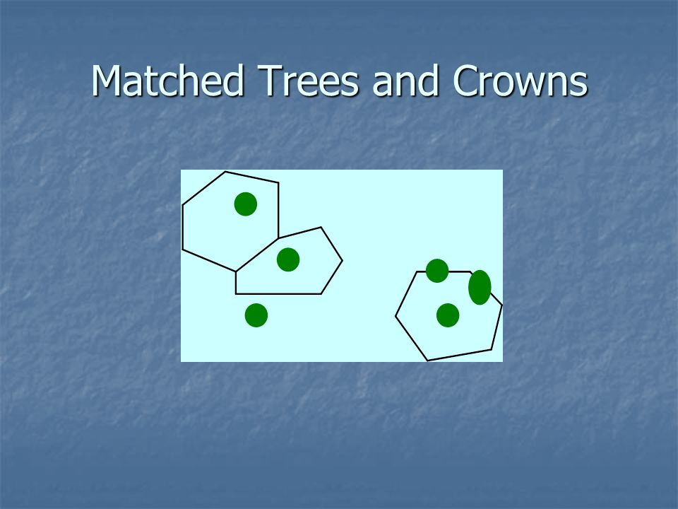 Matched Trees and Crowns