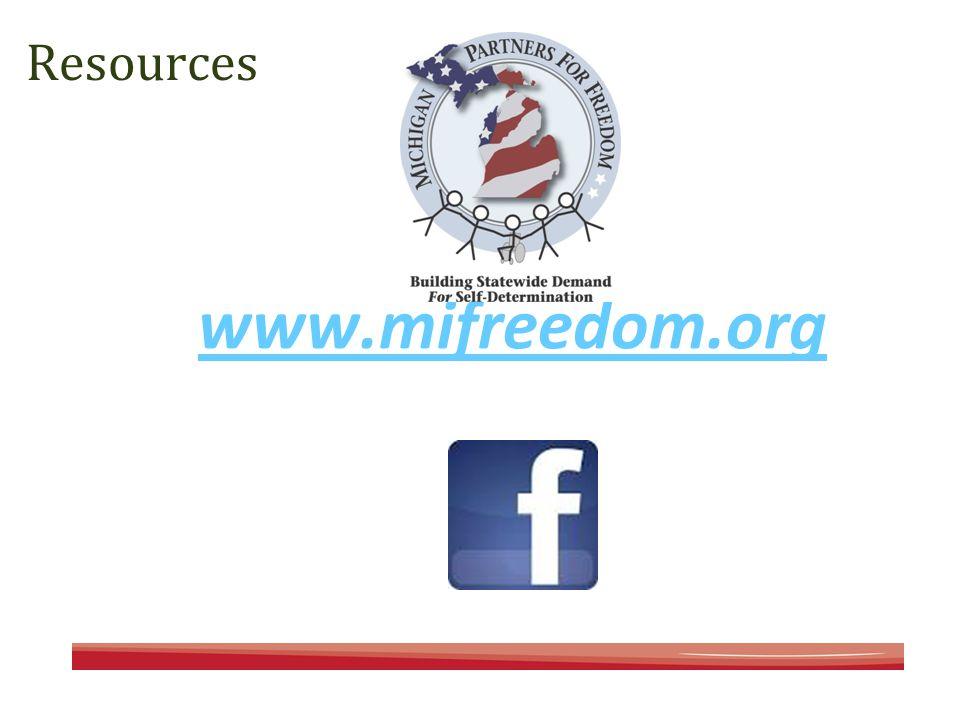 Resources www.mifreedom.org