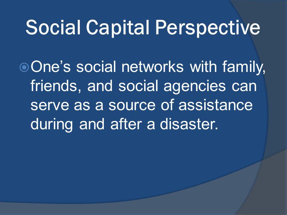 Premise Weak Social Networks + Multiple Disadvantages Increased Risk of High Vulnerability =
