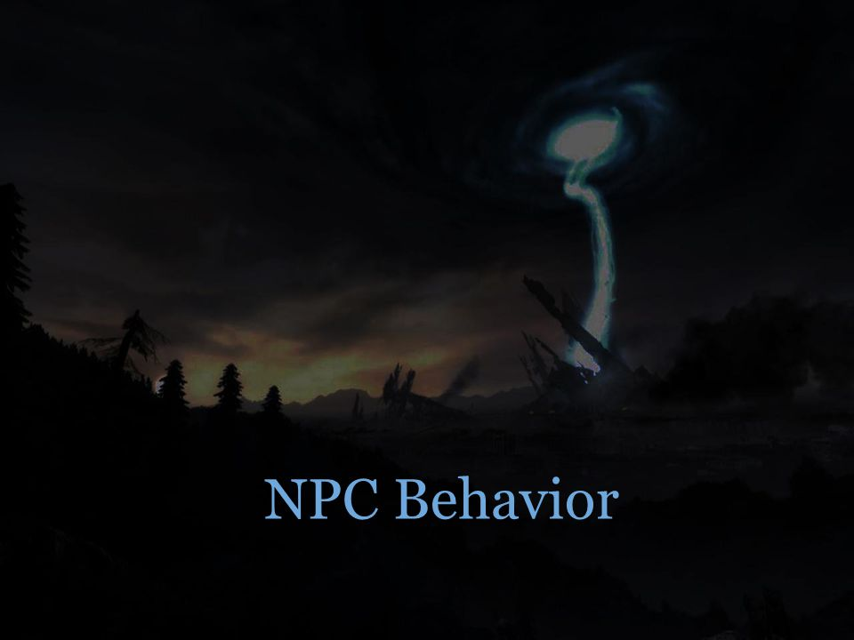 NPC Behavior