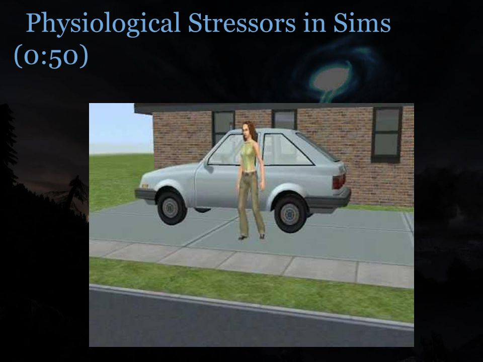 Physiological Stressors in Sims (0:50)