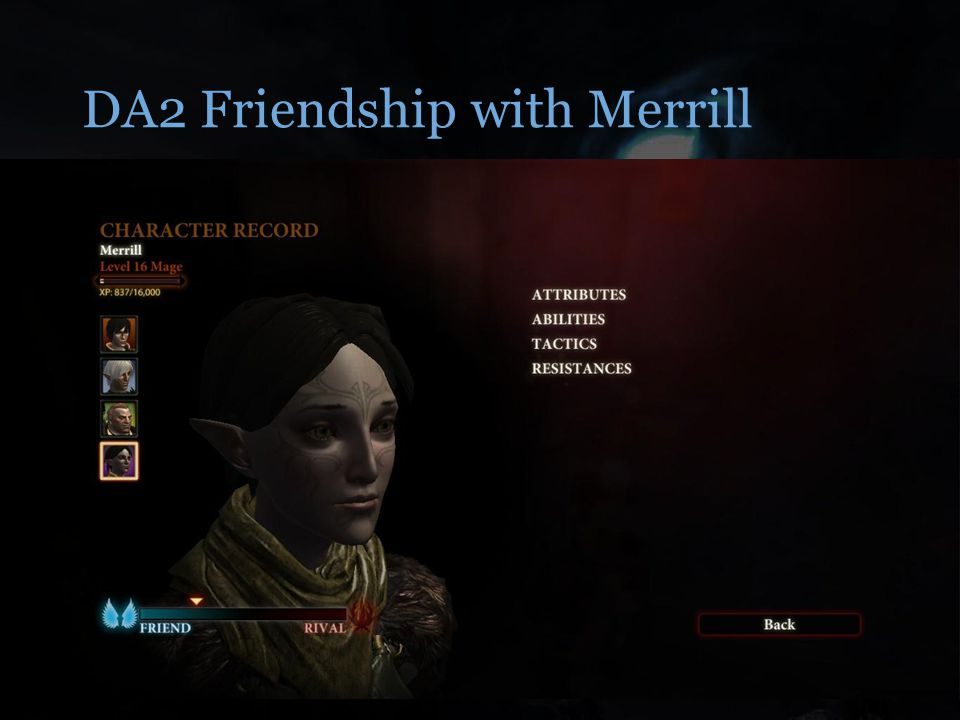 DA2 Friendship with Merrill