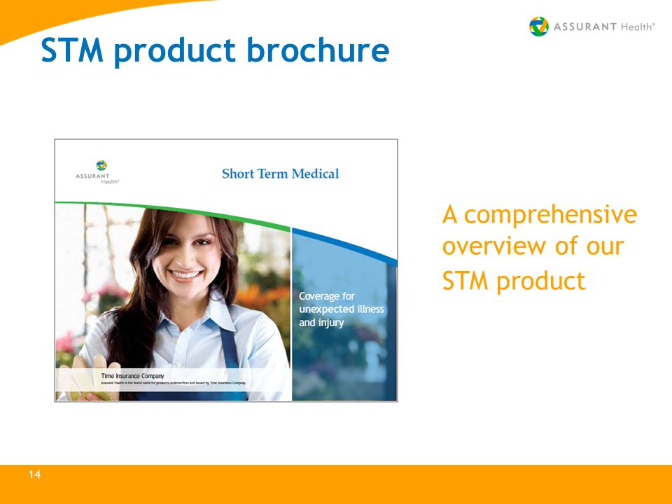 14 STM product brochure A comprehensive overview of our STM product
