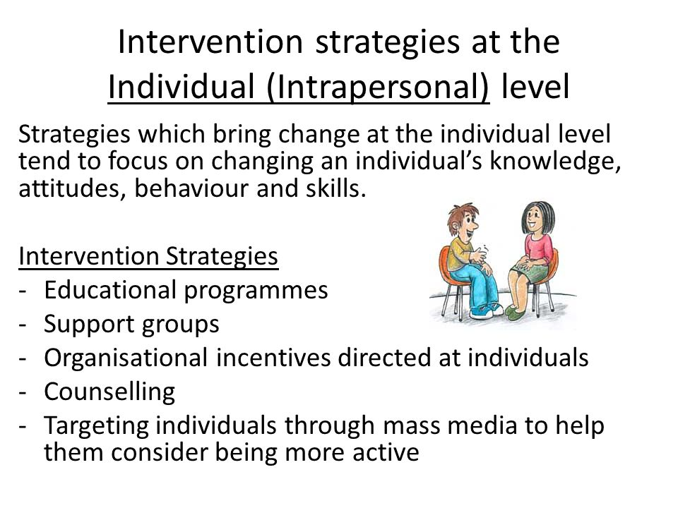 Social Environment (Interpersonal) Factors The social environment comprises the relationships, the culture and the society with whom the individual interacts.