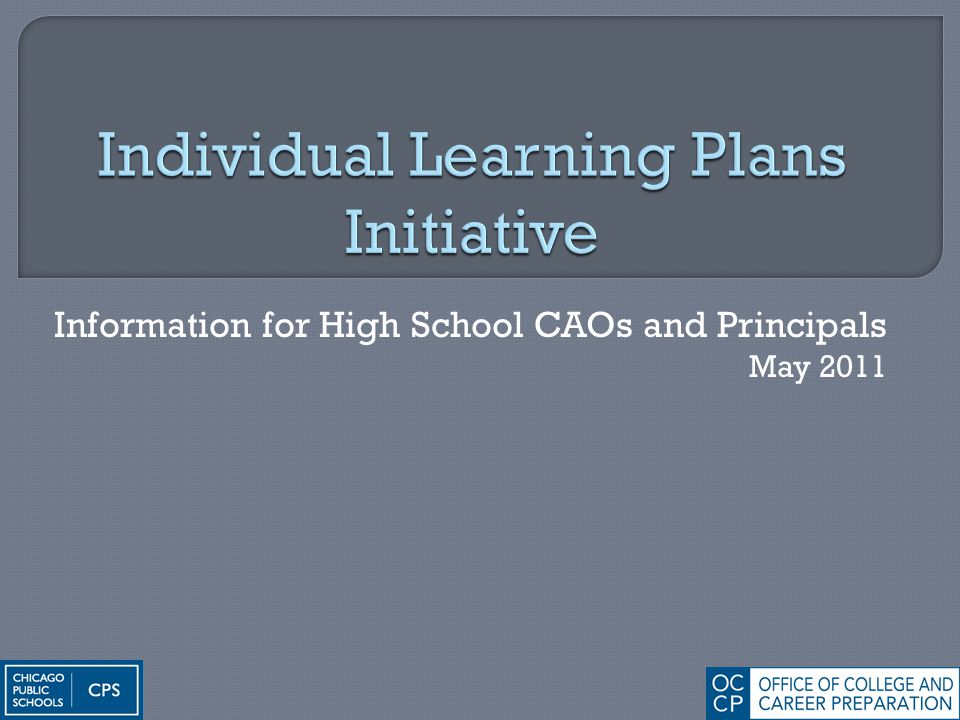Information for High School CAOs and Principals May 2011