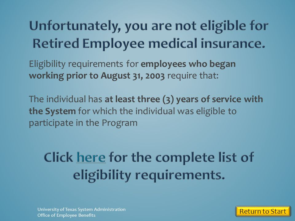 Do you have at least 3 years of UT service in a benefits-eligible position.