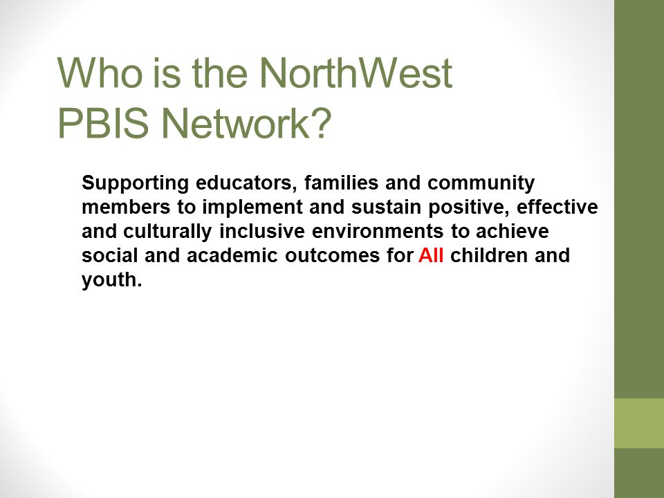 Tier III – Individual Support NW PBIS Network