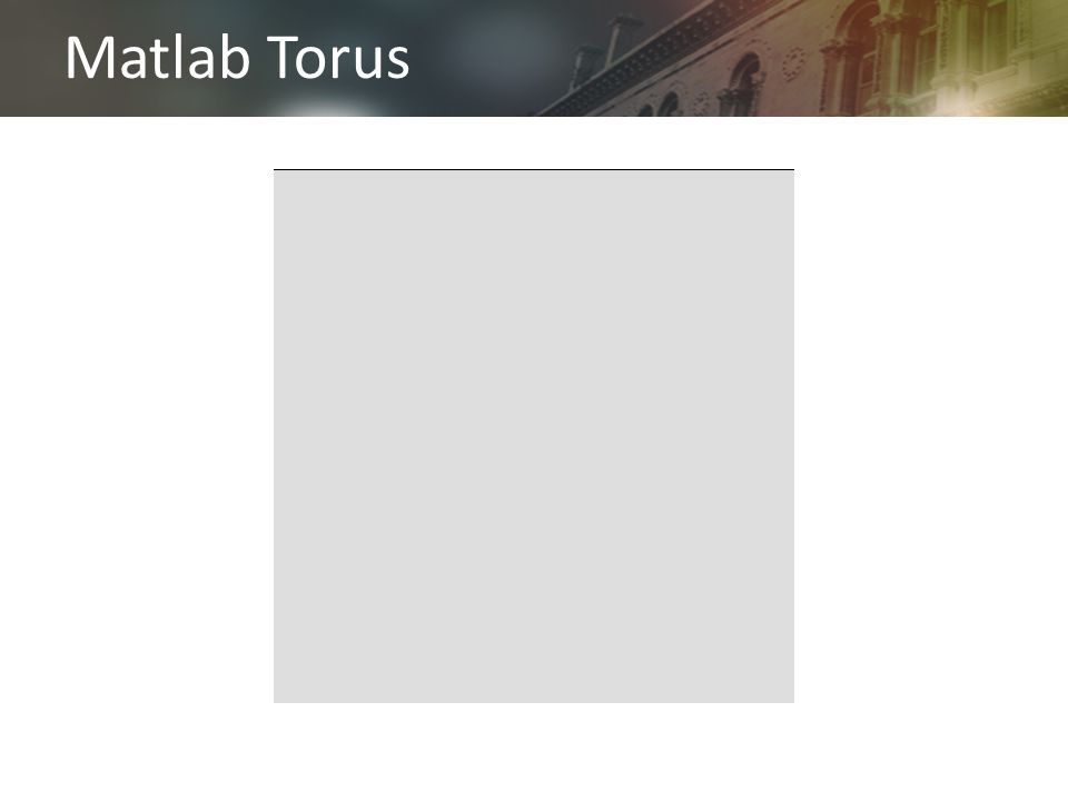 Matlab Torus