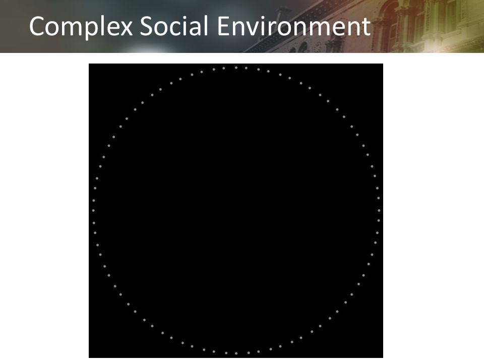 Complex Social Environment