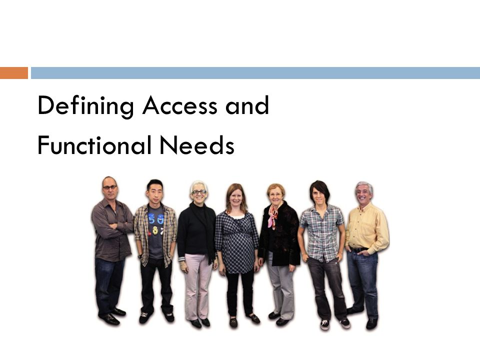 Nothing about us without us  People with disabilities and other AFN know best what they need.