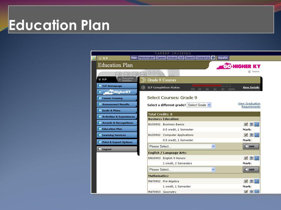 Education Plan