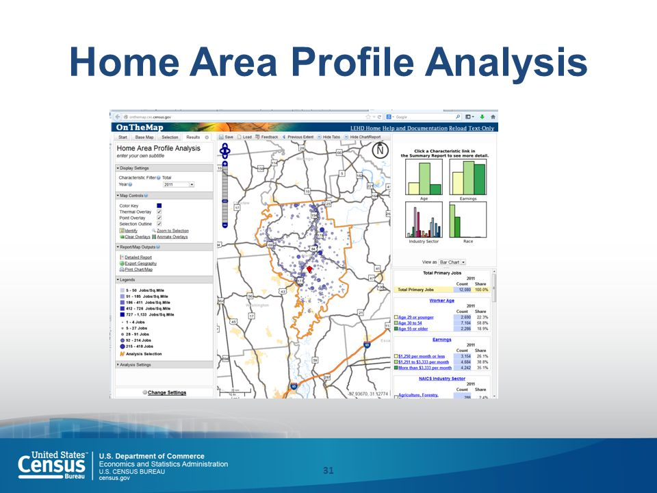 Home Area Profile Analysis 31
