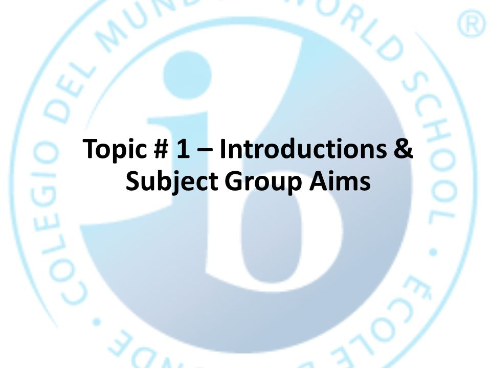 Unit Example – ATL specific skills Unit: Utopias Group presentation ATL Category Social Skills ATL Cluster and specific skill Collaboration: Working in groups Practice adapting to roles, resolving group conflicts, demonstrating teamwork for planning and delivering the presentation