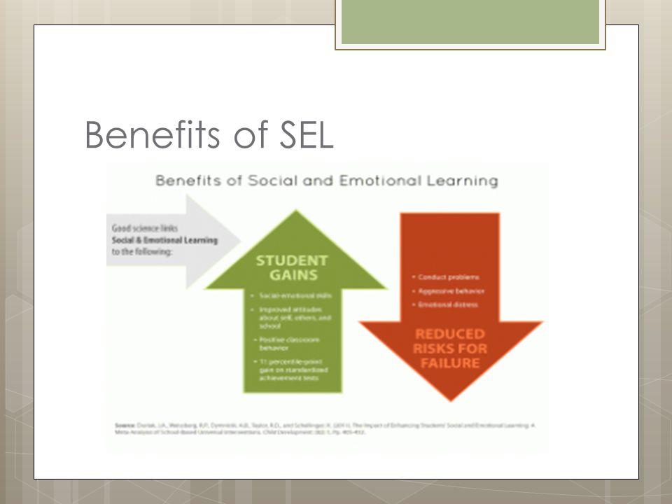Benefits of SEL