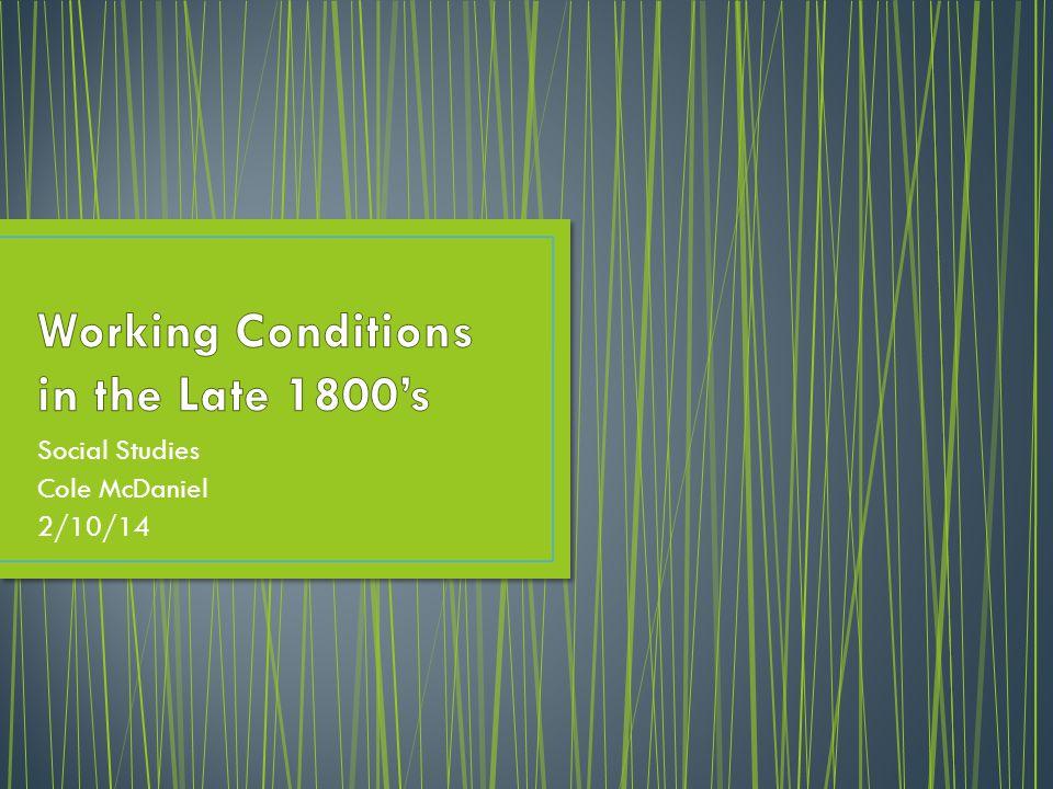 Social Studies Cole McDaniel 2/10/14
