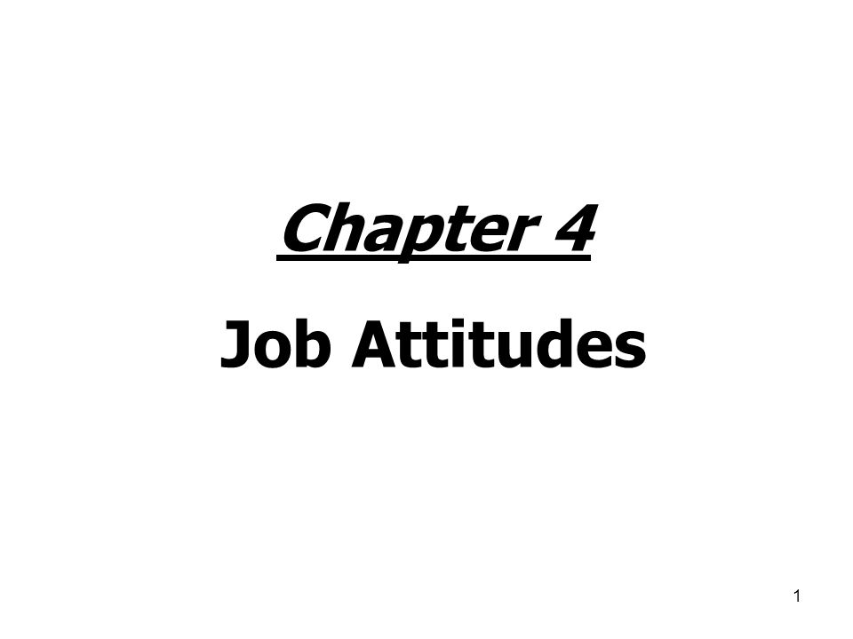 2 Individuals & Attitudes Attitude: An evaluative disposition (toward ____________) when compared against a set of standards or expectations.