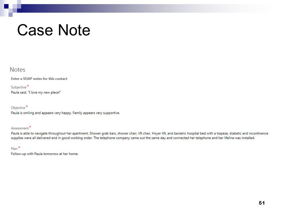 Case Note 51