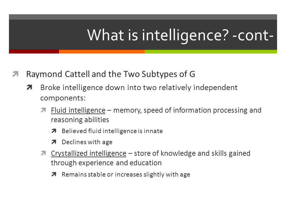 Theories of Multiple Intelligence  Howard Gardner's (b.