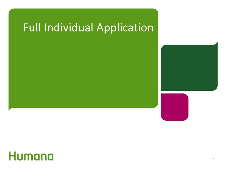 Full Individual Application 2