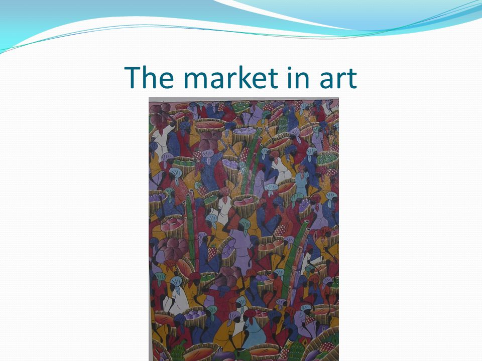 The market in art